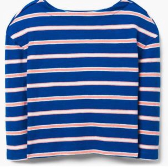 NWT Gymboree Girls Cheery All The Way Striped Top Size 3 4 /& 5